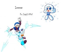 Megaman ZX Live Metal: Iceman by BarryBurton