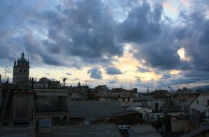 Genova in the evening 2 by Junipersweet