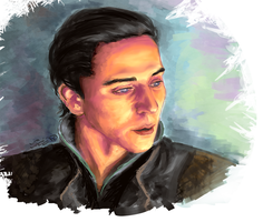 Young Loki by siquia