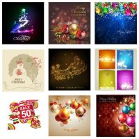 100+ Abstract Free Vector Merry Christmas Backgrou by cgvector