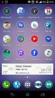 xperia Z apex launcher by MrHaoSac