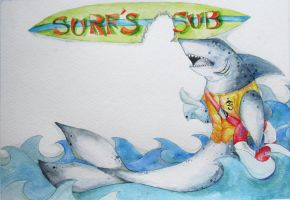 Surf's Subs by ENwings