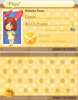 PKMC Application: Claire by ArrowofChaos