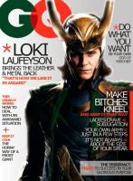Fake GQ Loki Magazine Issue: by HashtagGenius