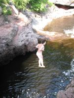 Cliff Jumping 3 by calebrw