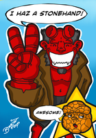 Hellboy The Thing by BouncieD