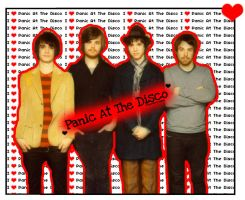 I Heart Panic At The Disco by VogueGirlDesigns