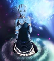 Liara apron by Kakurineh