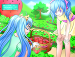 Picking Strawberries (Contest Entry) by FlitterDash
