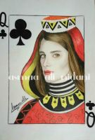 my queen card by 201325