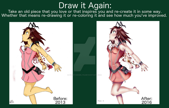 Draw it Again: Kairi Edition by fireryangel115