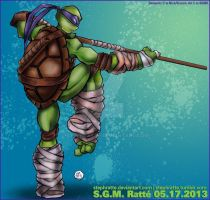 TMNT - :Donnie's a Badass: by StephRatte