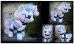 Commission: Sweetiebot Custom Plush by Nazegoreng