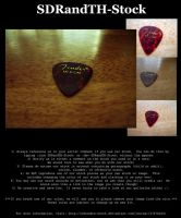 Guitar Pic 01 Pack by SDRandTH-Stock