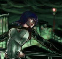 WIP: Ghost in the Shell by Raenstrife