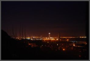 Swansea by Night by PlasticusForkus