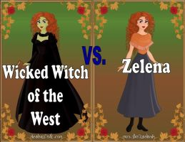 Wicked Witch vs Zelena by Sunshine-Girl524