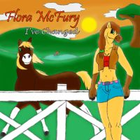 Flora's CD Cover by RedHoofsketch