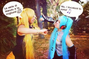 Which do you prefer- Naruto or Vocaloid by JadeNarukoUzumaki