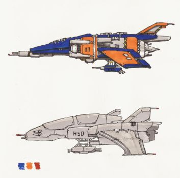 Some Ships... by Leviathan-Corp