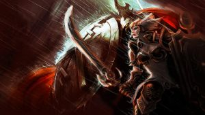 LoL - Pantheon Leona splash by ConShinn