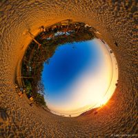 Stereographic Beach by SaiogaMan