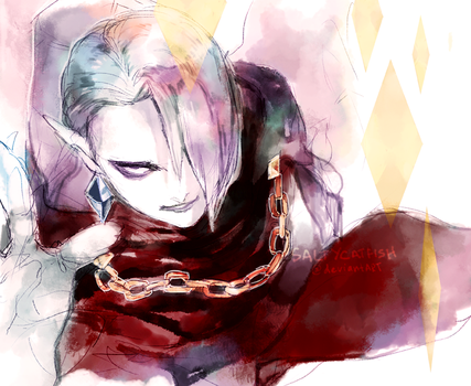 LoZ: Ghirahim by saltycatfish