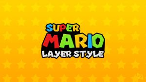 Super Mario Layer Style -FREE- by Xiox231