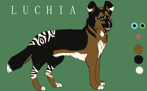 Luchia Reference by KatsaKitty