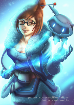 Mei (SFW) - Overwatch by CAROTdrawsthings