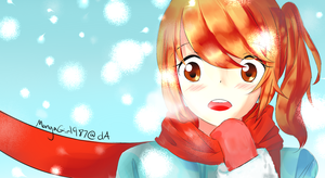 It started to snow by MangaGirl987