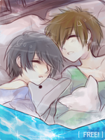 [7.28.2013] free! sleeping sobs by akiicchi