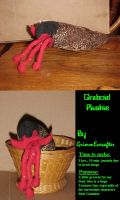 Graboid Plushie by GrimmEverafter
