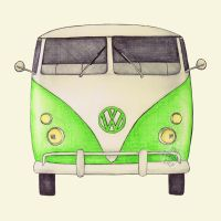 VW Type 2 by onecuriouschip