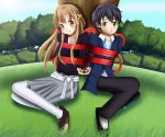 .: SAO : Ribbons in Garden :. by Sincity2100