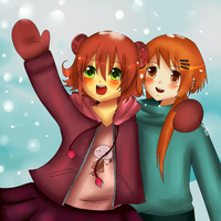 Look it's snowing by Lucky-KaiRi