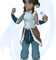 Korra - Animation by Curly-Qs