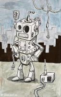Robot by Andyk77