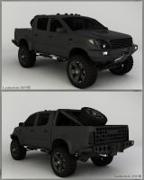 Custom Hilux by Lorddarthvik