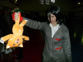 Rukia(and Kon) - Bleach by ElectricBlossom