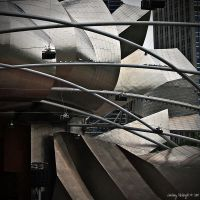 Chicago in Squares - 1 by PeppermintStripe