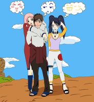 Naruto oc team 17 thoughts by NinaWH94