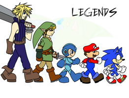 Legends:. by Crystalhedgie