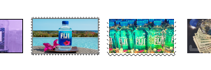 Fiji water stamps f2u by septums