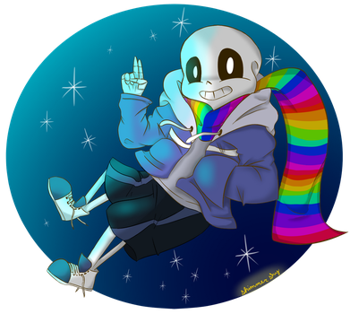 REFUSETale Sans | Contest Entry by MLPBASESEGRR