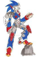 Reploid Sonic by coyotepack