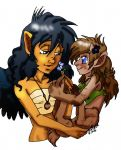 Kay and Tawny by GlyphBellchime
