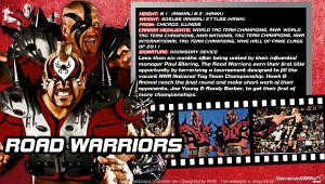 WWE Road Warriors ID Wallpaper Widescreen by Timetravel6000v2