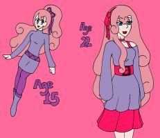 Matilda Age 15 and 22 COLORED by kast43