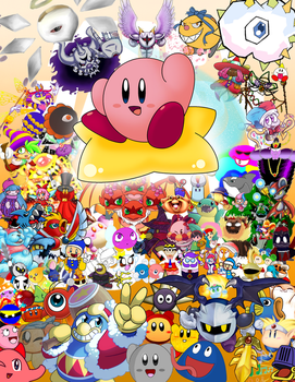 Kirby 25th Anniversary Collab by Jdoesstuff